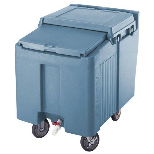 Cambro ICS125L-401 Sliding Lid Polyethylene Standard Height Ice Caddy, 29-1/4-Inch, Slate Blue