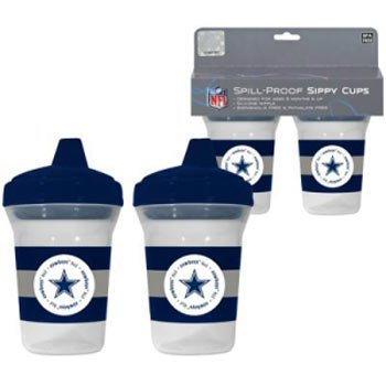 Dallas Cowboys NFL Baby Sippy Cup - 2 Pack - 1