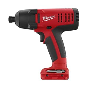 Bare Tool Milwaukee 0881-20 18-Volt V18 1/4-Inch Hex Impact Driver Kit (Tool Only, No Battery)