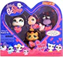 LITTLEST PET SHOP VALENTINE 4 PETS PACK INCLUDES