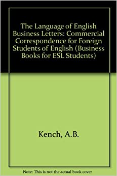 The Language Of English Business Letters Commercial