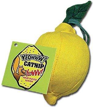 Yeowww! 100% Organic Catnip Lemon Toy
