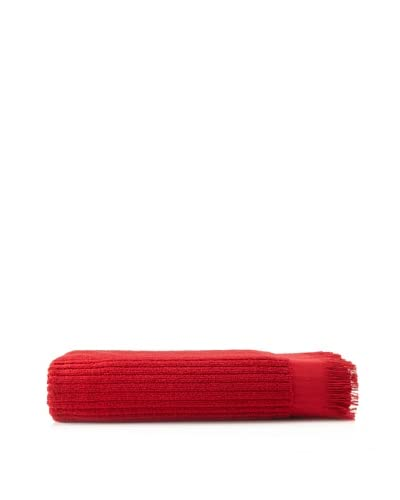 Nine Space Ribbed Luxurious Bath Sheet, Cranberry
