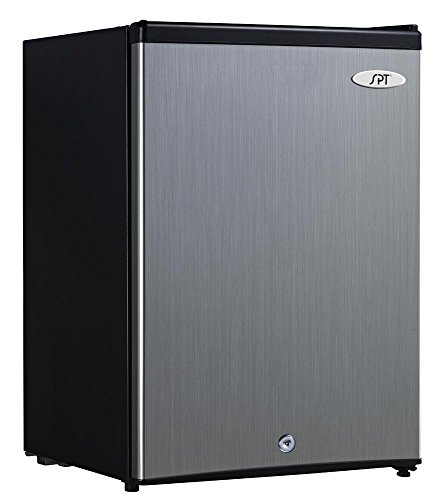 SPT UF-214SS Energy Star Upright Freezer, 2.1 Cubic Feet, Stainless Steel