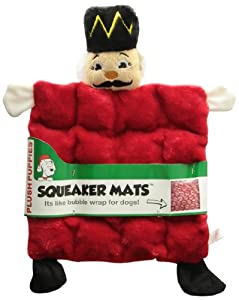 Kyjen Squeaker Mat Square Nutcracker LG