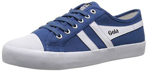 Gola Men's Coaster Fashion Sneaker, Blue/White, 8 UK/8.5 M US