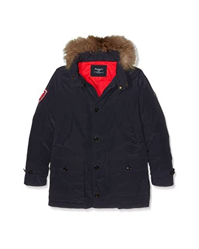 Hackett London Cappotto Snow Parker Y [Blu Scuro]