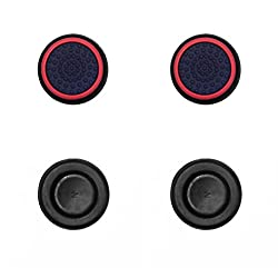 Redgear Controller Thumb Grips for PS3, PS4, Xbox and Xbox One Set of 4 Grips