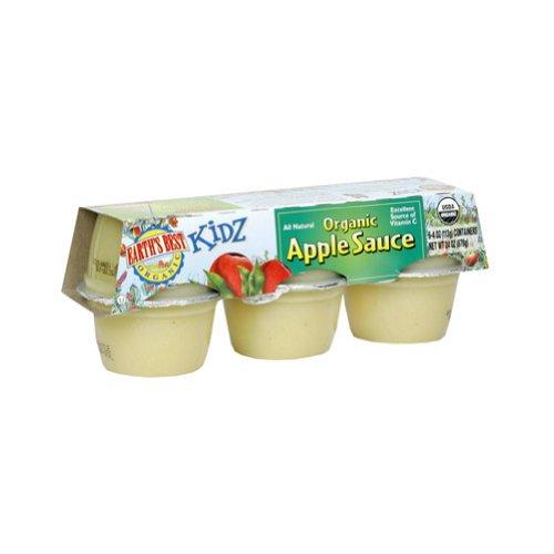Earth'S Best Applesauce Cups (12X6/4 Oz) front-476658