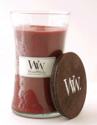 WoodWick Rum Raisin Large Jar Candle