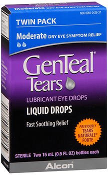 Genteal Tears Moderate Eye Drops