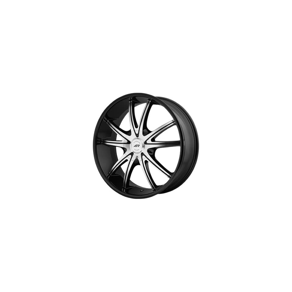 American Racing AR897 18x8 Black Wheel / Rim 5x4.5 & 5x5 with a 38mm Offset and a 72.60 Hub Bore. Partnumber AR89788054338