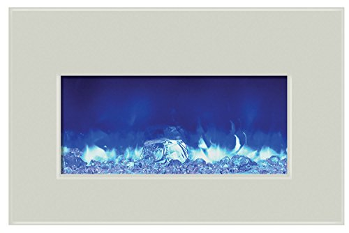 Amantii Fire & Ice Series Built-In Insert Electric Fireplace, 30-Inch