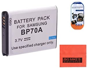 Big Mike's BP-70A Battery for Select Samsung Digital Cameras