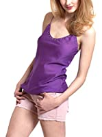 Mine de Rien Top Seda Easy Top (Morado)