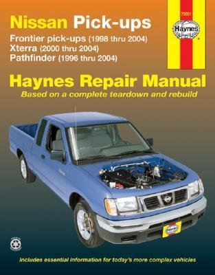 nissan-frontier-xterra-pathfinder-pick-ups-96-04-author-haynes-editorial-published-on-february-2007