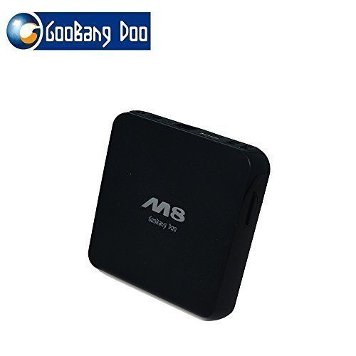 GooBang Doo M8 Quad Core Android TV Box 2GB RAM 8GB ROM (M8 Quad Core compare prices)