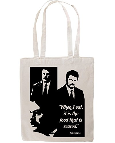 ron-swanson-quote-when-i-eat-funny-tote-shopping-bag