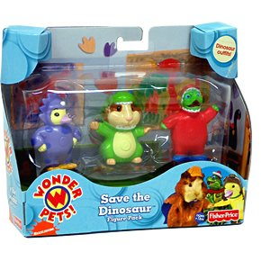 Wonder Pets Save the Dinosaur Figure Pack