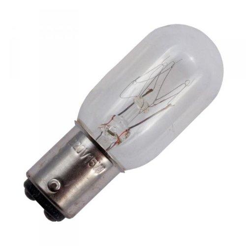 1 x Glühbirne/Nähmaschinen-Lampe Bajonett Steckfassung/15 W