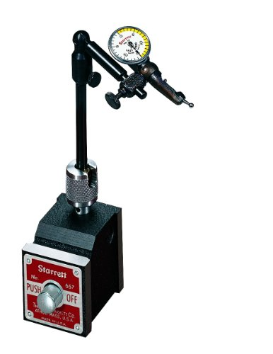 Starrett 657P Magnetic Base Indicator Holder 1-7//8 Depth 1-15//16 Height 1-5//8 Width