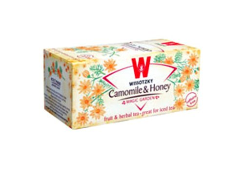 Wissotzky Chamomile Honey, 1.06-Ounce Boxes (Pack Of 6)