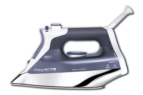 Rowenta DW8080 Pro Master 1700 Watt Steam Iron with 400-Hole Stainless Steel Soleplate
