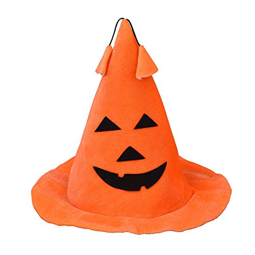 Tonsee Halloween Hat Party Pumpkin Hat Masquerade Bar Props Decorative