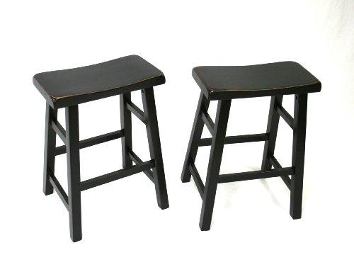 Tremendous Buy Set Of 2 Heavy Duty Saddle Seat Bar Stools Counter Inzonedesignstudio Interior Chair Design Inzonedesignstudiocom