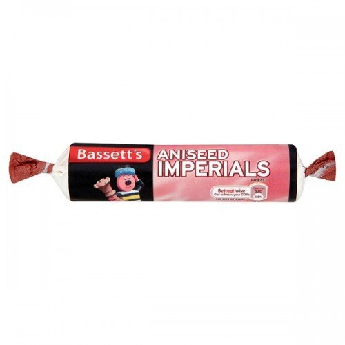 Bassetts Aniseed Imperials 40 x 43g Rolls (Aniseed Imperials compare prices)