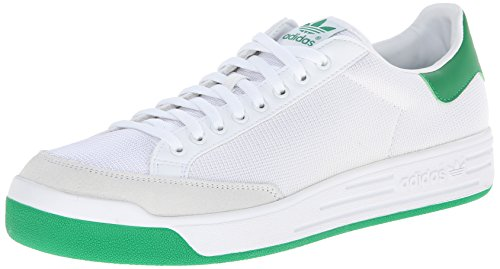 Adidas Originals Men's Rod Laver Sneaker, White/White/Fairway, 9 M US