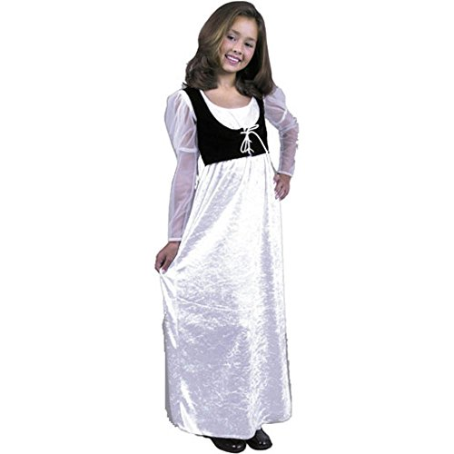 Child's Girl's Medieval Maiden Costume (Size: X-small 4-6)