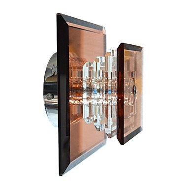 20w lumiššre moderne mur de cristal avec 1 lumiššre