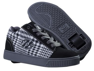 Heelys Rollschuhe Straight UP TX2297D (black plaid) Gr. 38