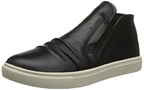 STEVEN by Steve Madden Women's Exitt Fashion Sneaker,Black,7.5 M US