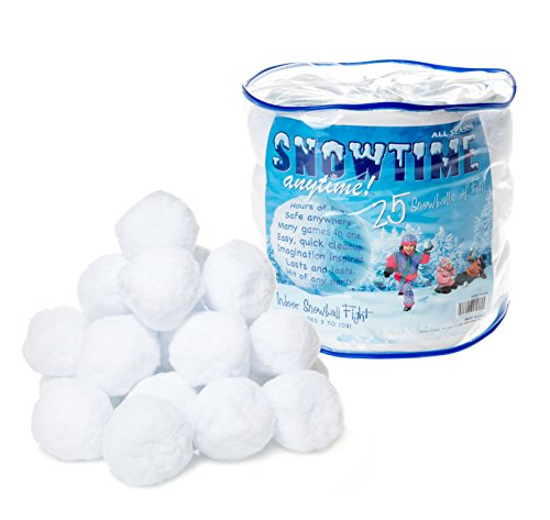 Snowtime Anytime Indoor Snowballs - 25pk
