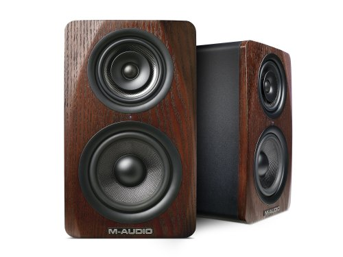 M-Audio M3-6 3-Way Active Studio Monitor Speaker With 6-Inch Woven Kevlar Woofer (Single)