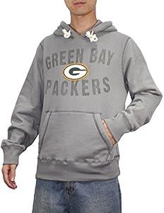 Mens NFL Green Bay Packers Athletic Pullover Hoodie (Vintage Look) by NFL