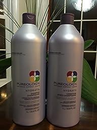 Pureology Hydrate Shampoo 33.8 oz and…
