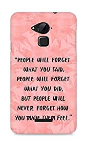 AMEZ people will forget what you said did Back Cover For Coolpad Note 3