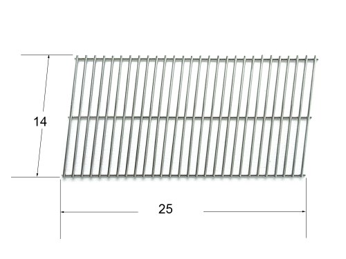 92301 - Char-Broil & Patio Kitchen Gas Grill Stainless Steel Cooking Grate front-2370