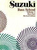Alfred 00-0370S Suzuki Bass School Parte de Bajo-Comba 1 – Music Book