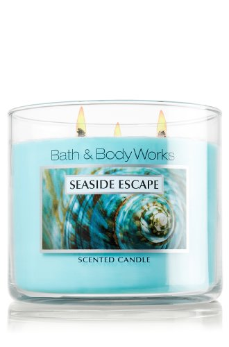 Bath and Body Works Slatkin & Co Seaside Escape Scented Candle - 14.5oz Filled Candle