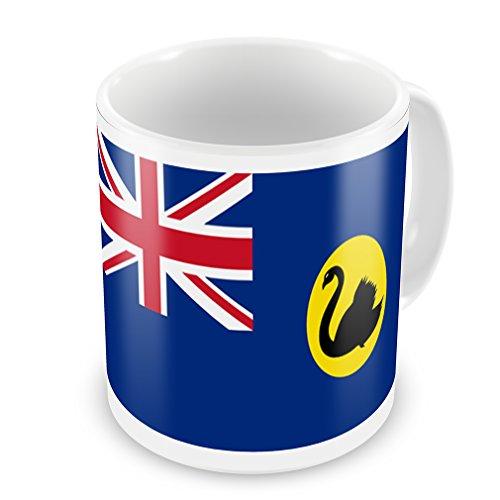 Coffee Mug Western Australia (Western Australia) Flag Region: Australia - Neonblond