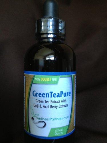 Green Tea Pure Liquid 50% EGCG w/Acai & Goji-Tastes Great!