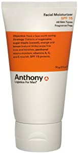 Anthony Logistics for Men Facial Moisturizer SPF 15, 2.5 oz. from Anthony Logistics For Men