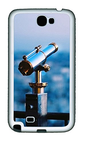 Samsung Note 2 Case Astronomical Telescope Tpu Custom Samsung Note 2 Case Cover White