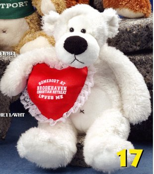 "Herman Bear & Co. 11"" White Bear"