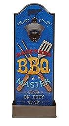 Backyard BBQ Master On Duty Wall Mounted Bottle Opener by Boston Warehouse