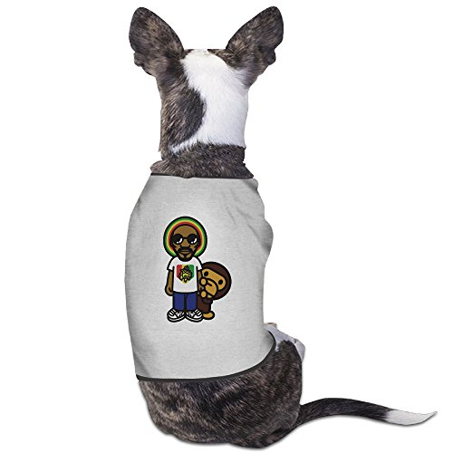Funny Snoop Dogg Snoop Lion Pet Dog T Shirt. (Snoop Dog Pen Herbal Vaporizer compare prices)